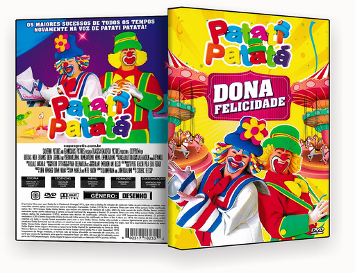 CAPA DVD – PATATI PATATA DONA FELICIDADE DVD-R
