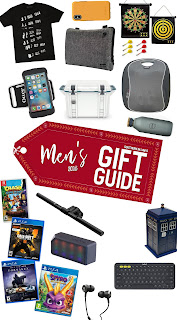 Men's Christmas Gift Guide 2018