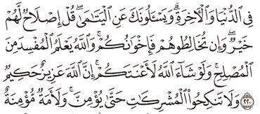 Tafsir Surat Al-Baqarah Ayat 216, 217, 218, 219, 220