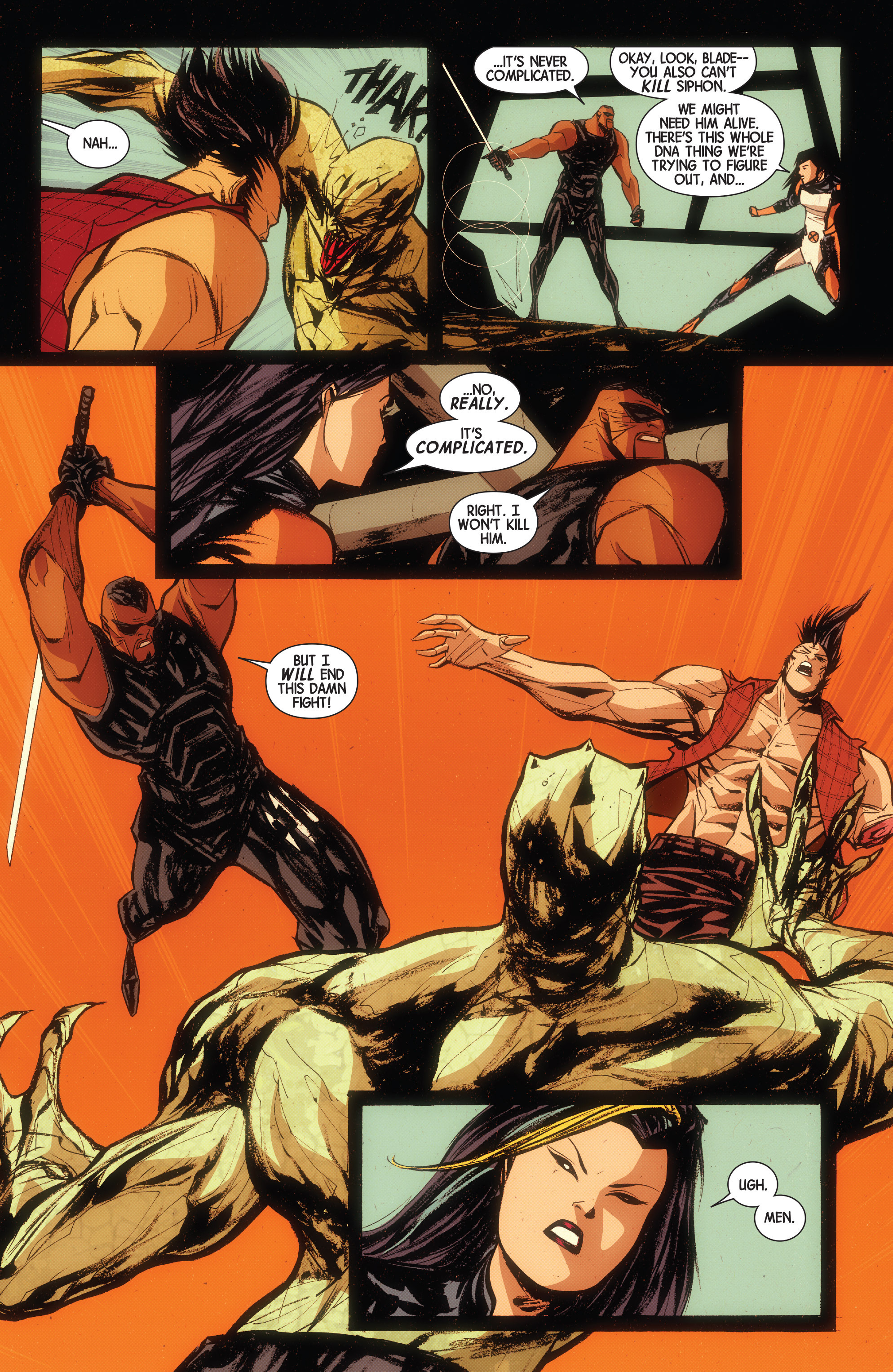Read online Wolverines comic -  Issue #15 - 7