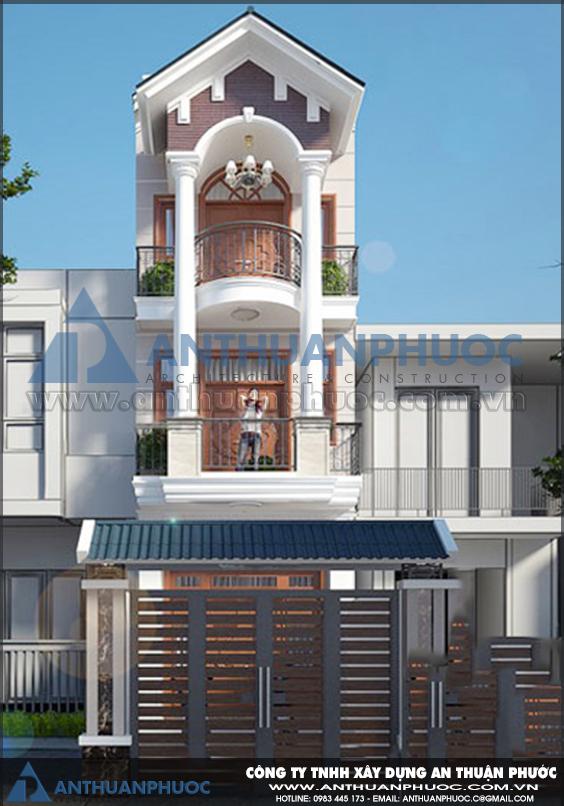Những mẫu nhà phố đẹp 5m mang phong cách hiện đại tại tphcm