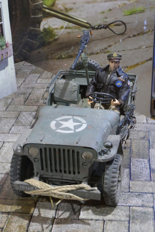 Welcome to Marwen Cpt Hogie figure jeep prop