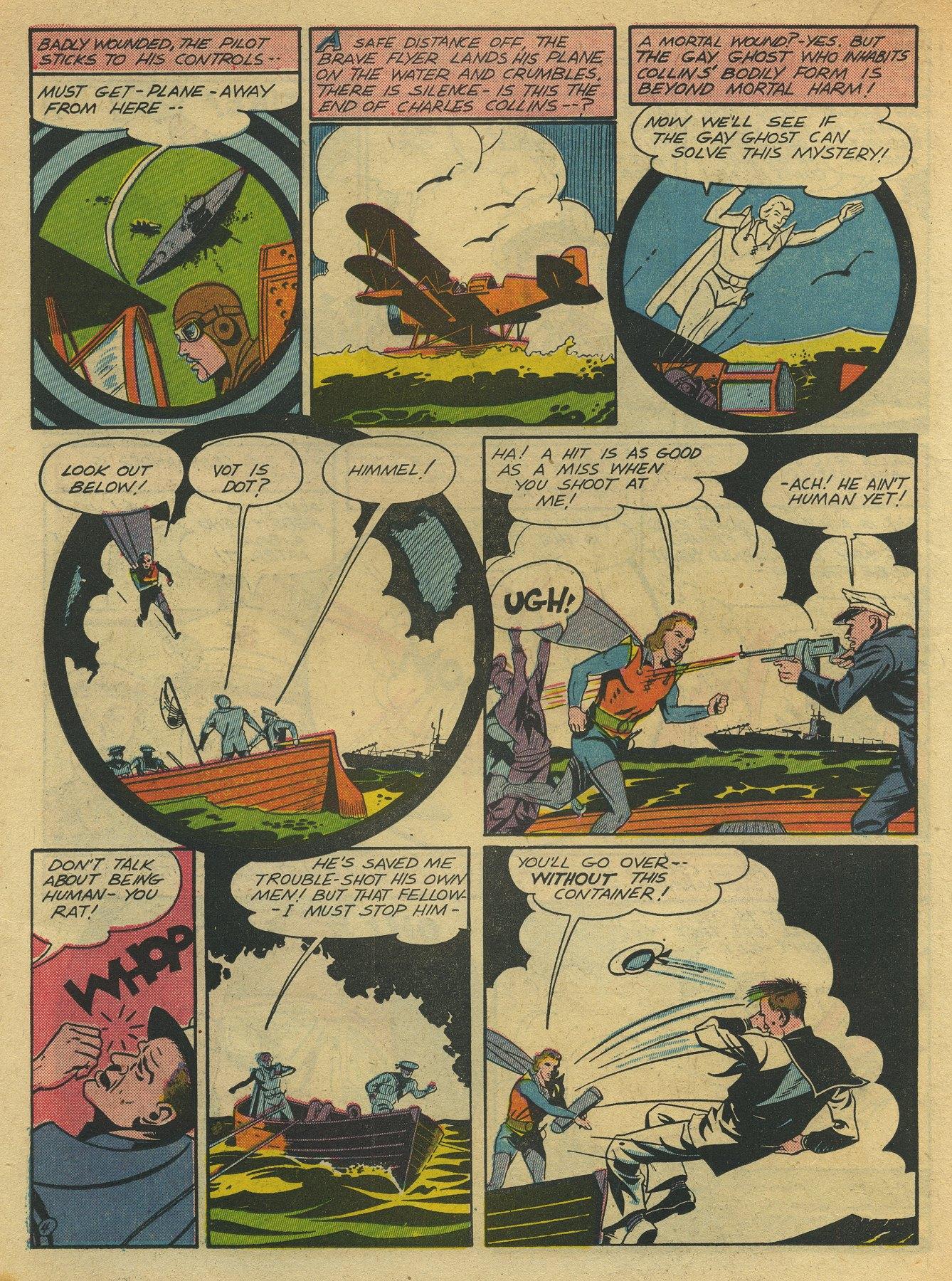 Read online Sensation (Mystery) Comics comic -  Issue #10 - 40