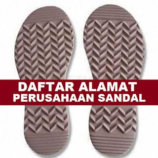 industri pembuatan sandal di daerah DKI
