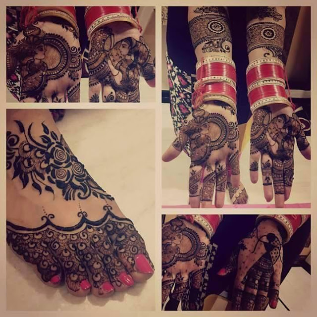 Bridal Mehandi Design 7