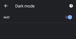 turn on dark mode chrome