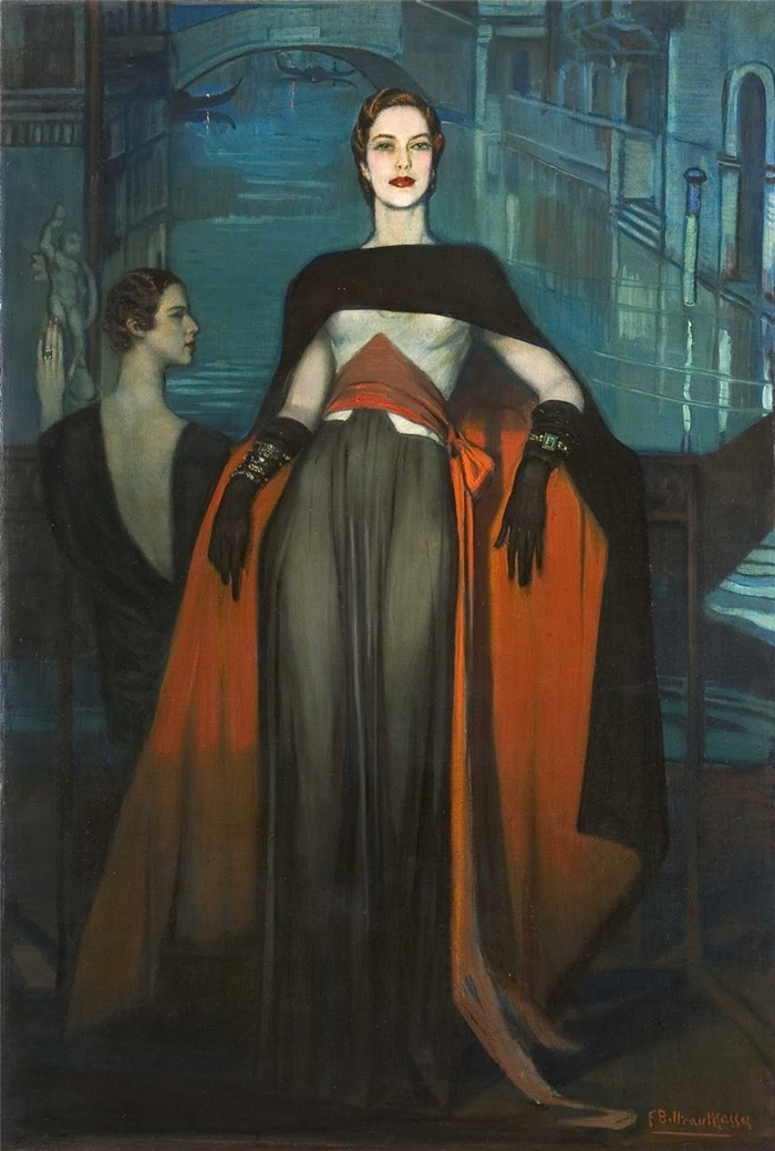 Federico Beltrán-Masses 1885-1949 | Spanish painter | Belle Époque