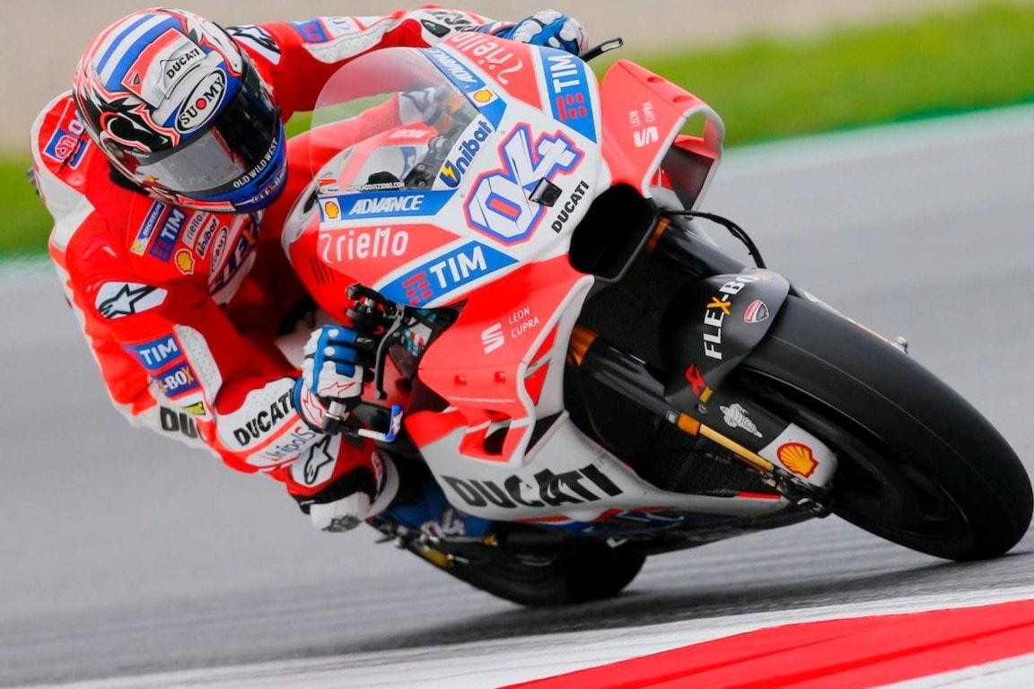 Intip perolehan point klasemen sementara MotoGP 2017 pasca kemenangan Dovizioso di GP Austria
