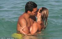 Footballer Radamel Falcao enjoys some downtime with his wife (photos)