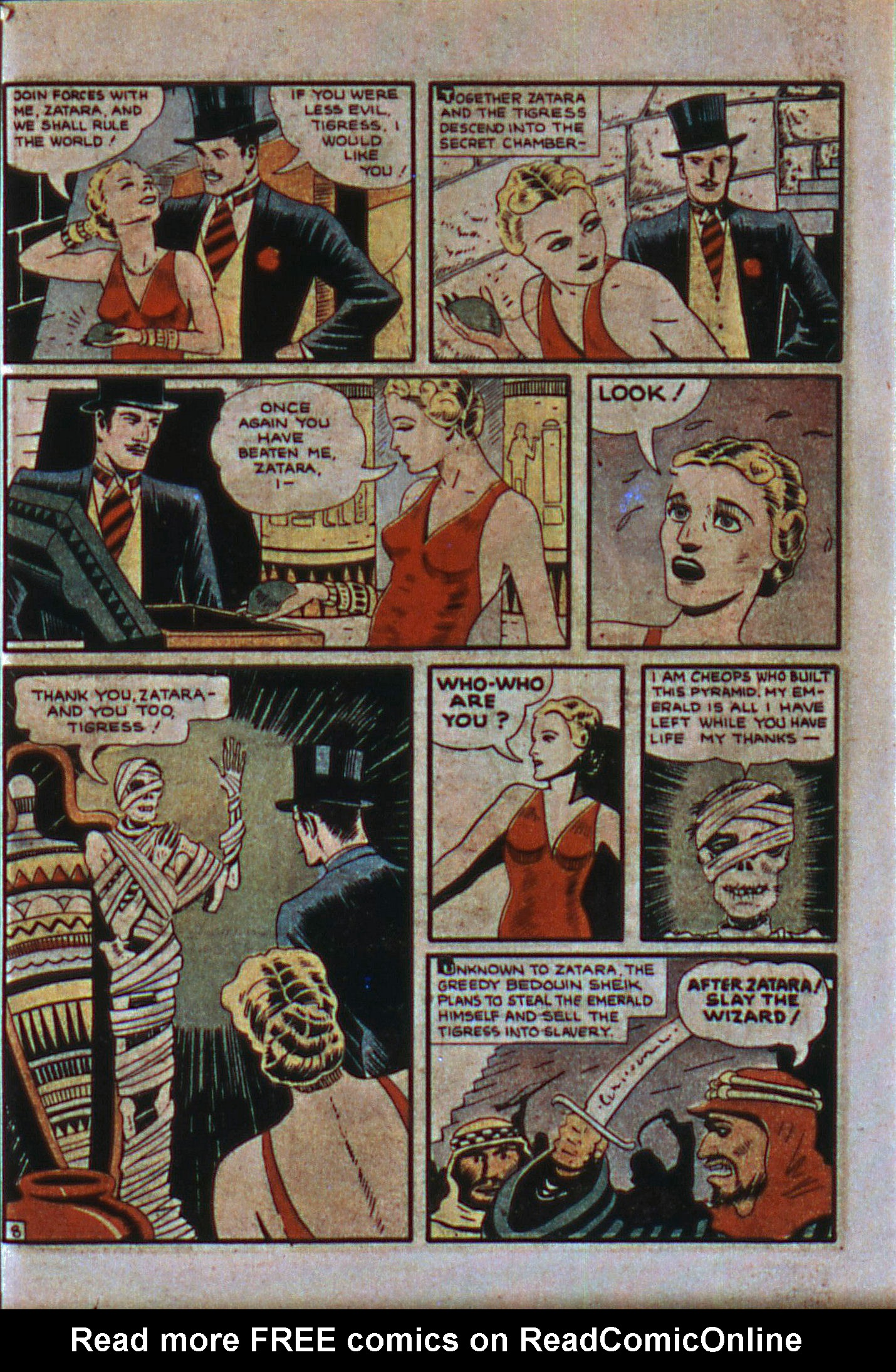 Read online Action Comics (1938) comic -  Issue #6 - 61