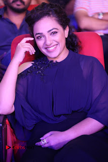 Nithya Menon Latest Stills at at Janatha Garage Movie Audio Launch  0065