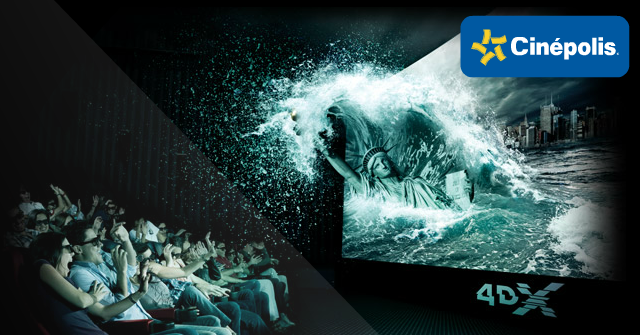 Cin polis 4dx experiencia al m ximo for Sala 4d cinepolis