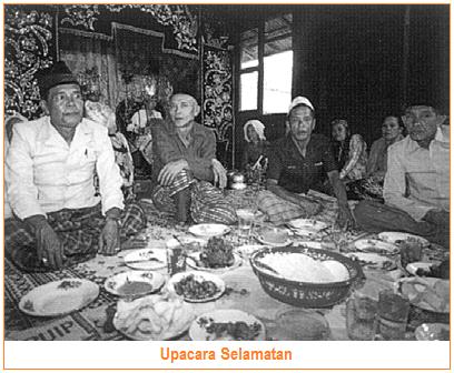 Sistem Kepercayaan/Religi Suku Jawa - Selamatan
