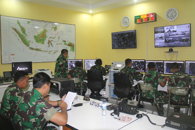 Komandan Satrad 212 Ranai Tinjau Kesiapan Alutsista Radar
