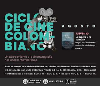 CICLO de Cine Colombiano 2018 | Biblioteca Nacional