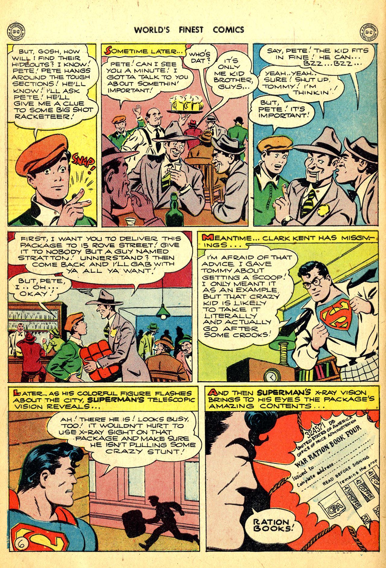Read online World's Finest Comics comic -  Issue #18 - 8