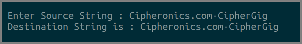 15 - WAP to Copy a String without using strcpy() function ...