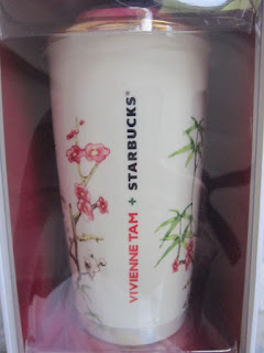 Starbucks Coffee Malaysia Asia Vivienne Tam ceramic mug tumbler mug collection card limited edition