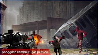 Download Zombie Perang Penembakan Apk