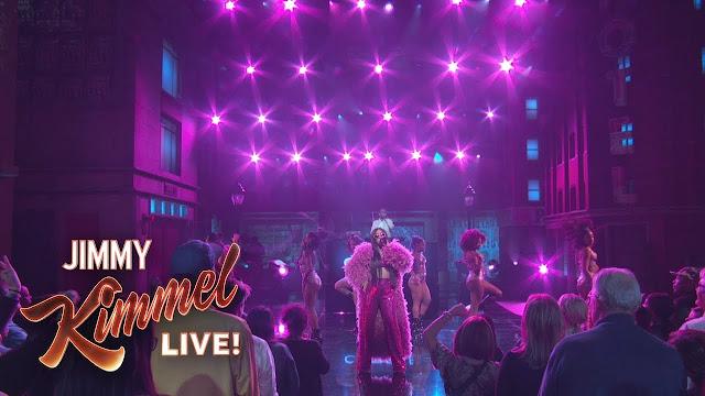 "Cardi B Performs ""Bodak Yellow"" On Jimmy Kimmel"
