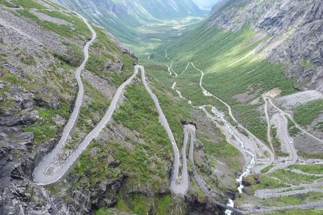 Noorwegen met camper over Trollstigen