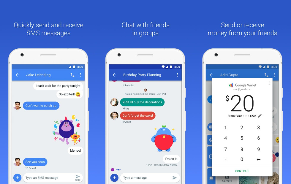 Android Messages For Web Now Rolling Out