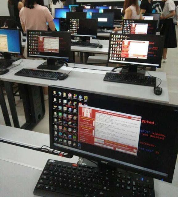 Cara mencegah serangan ransomware wannaCRY 1
