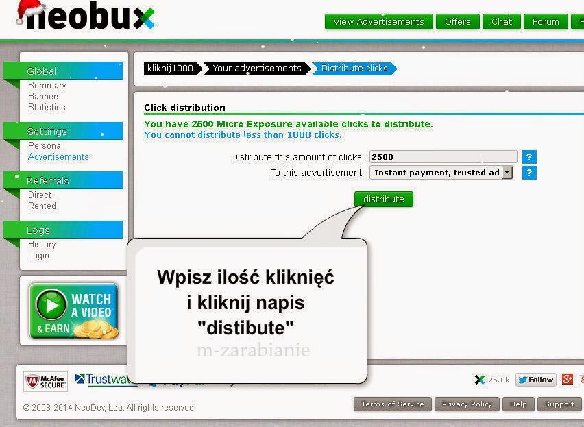 Jak dodać reklamę w Neobux.com ? Czy reklama jest skuteczna?