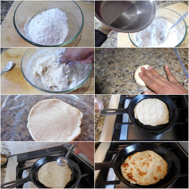 images of Pol Roti / Coconut Roti / Sri Lankan Pol Roti Recipe - A Sri Lankan Breakfast Recipe