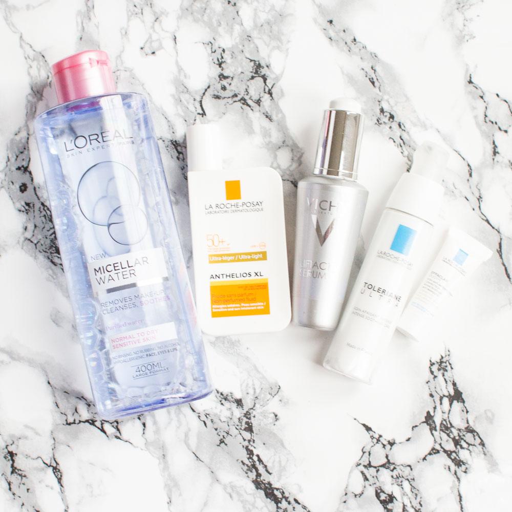 Acne Treatment, Cleanser, La Roche-Posay, Moisturiser, Serum, Skincare, Skincare Tips, Vichy,