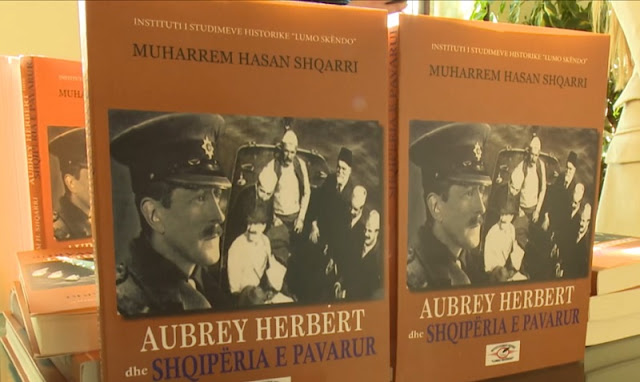 Aubrey Herber and Independent Albania cover photo book