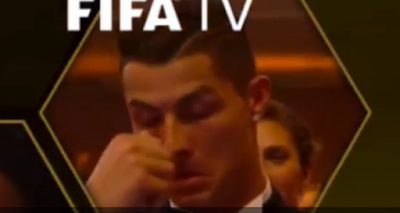 1m - Cristiano Ronaldo's reaction to Messi winning the Ballon d'Or