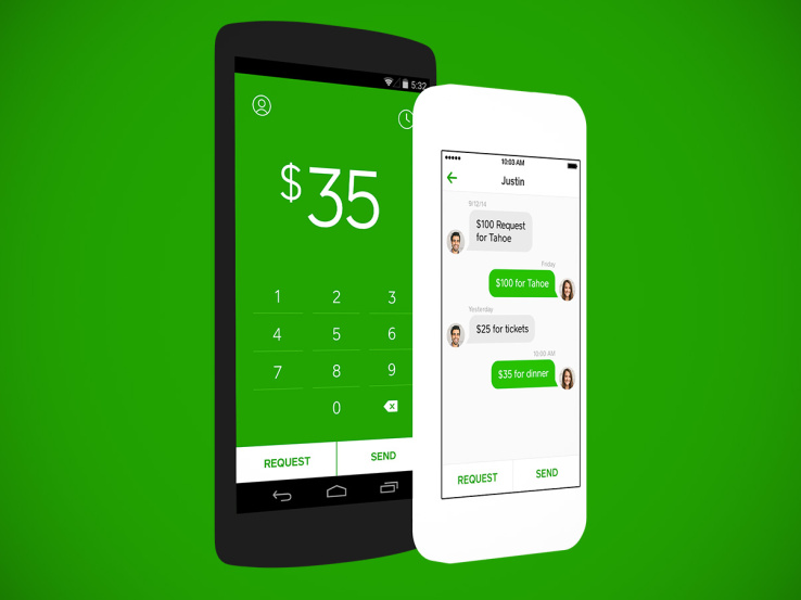 Cash App is the only way to send cash