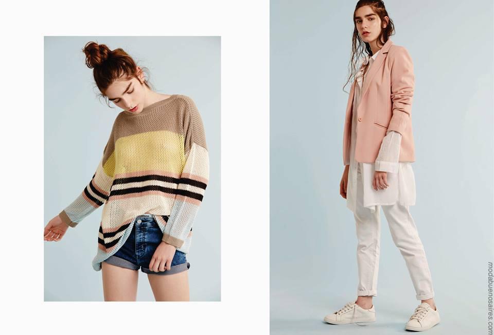 Moda Otoño Invierno 2021 Argentina Moda Y Tendencias En Buenos Aires Moda 2017 Ropa De Mujer De Estilo Urbano Y Femenino En El Verano De Bled