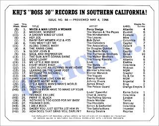 KHJ Boss 30 No. 44 - May 4, 1966