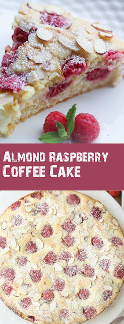 Almond Raspberry Coffee Cake