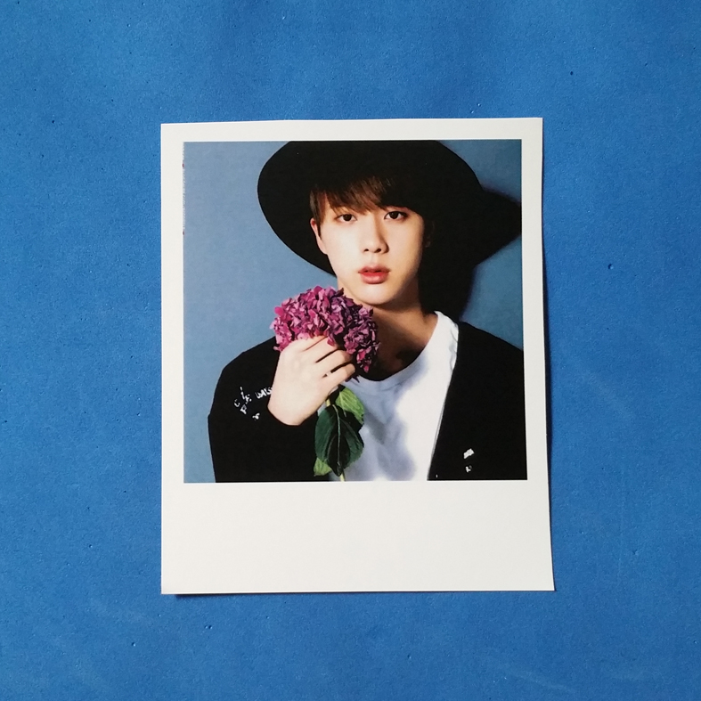 FOTO MODEL POLAROID JINNIE OPPA BTS CUSTOM MURAH