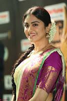 Adah Sharma looks super cute in Saree at IIFA Utsavam Awards 004.JPG