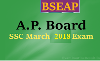 ap ssc time table 2018 download from bseap.org