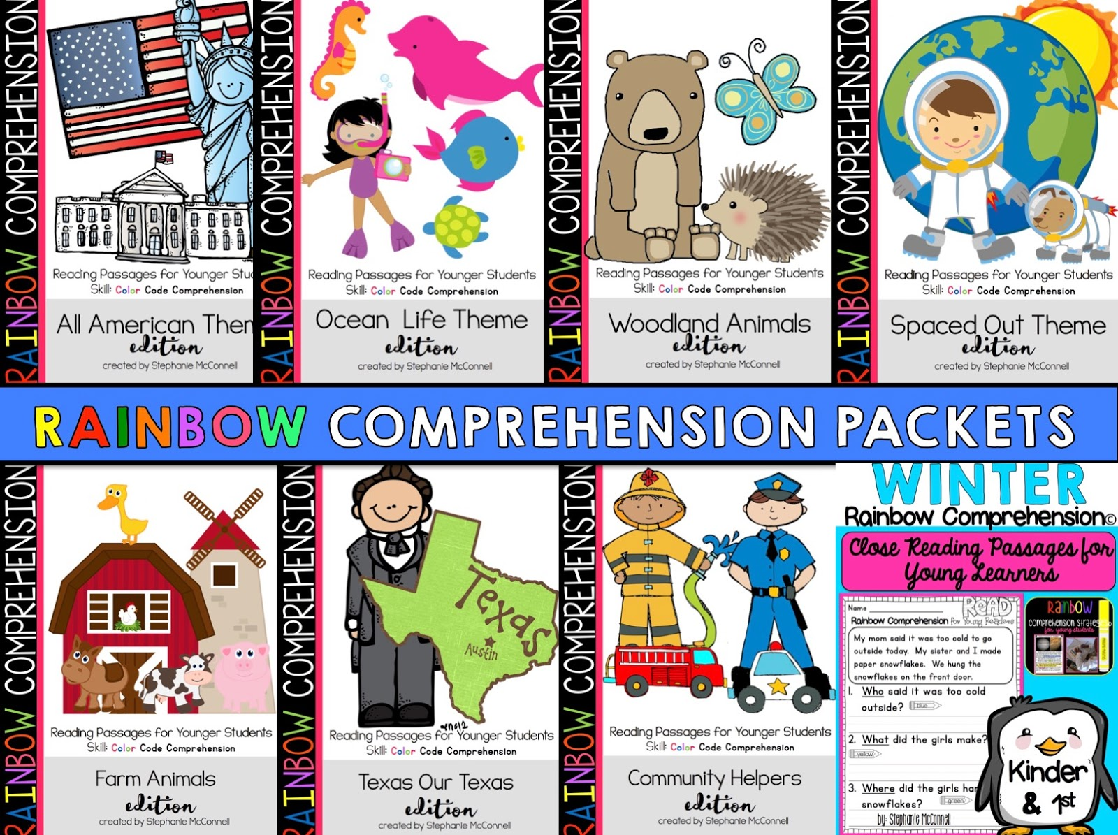 Text Based Evidence With Rainbow Comprehension