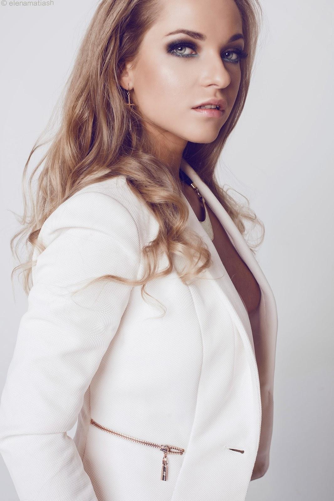 Makijaż Wieczorowy Dla Blondynki Justyna Wróbel