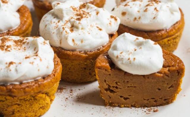 Pumpkin Pie Cupcakes , weight watchers recipes , 3 smartpoints