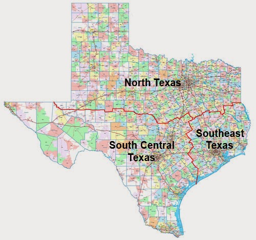 Map Of South East Texas.Texas Map With Cities And Counties Printables