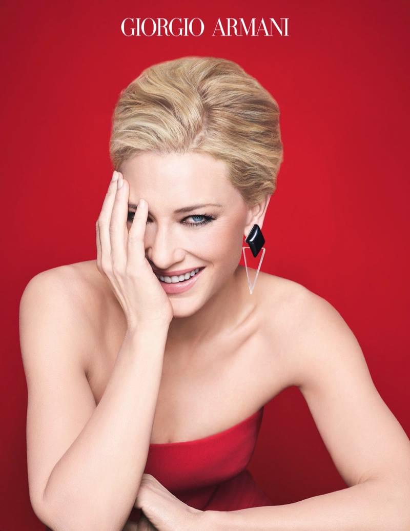 Si Giorgio Armani Cate Blanchett