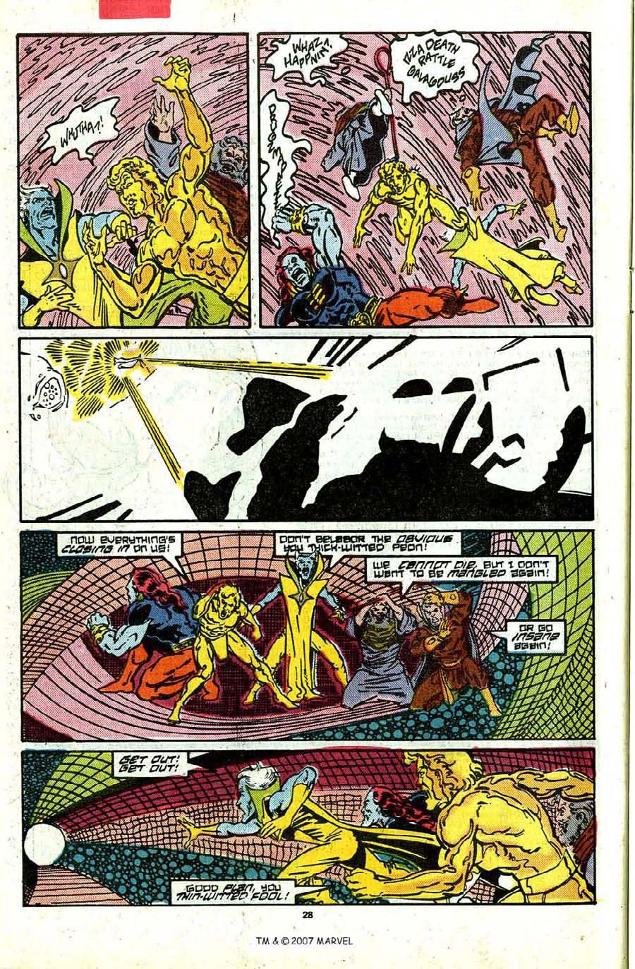 Read online Silver Surfer (1987) comic -  Issue #17 - 30