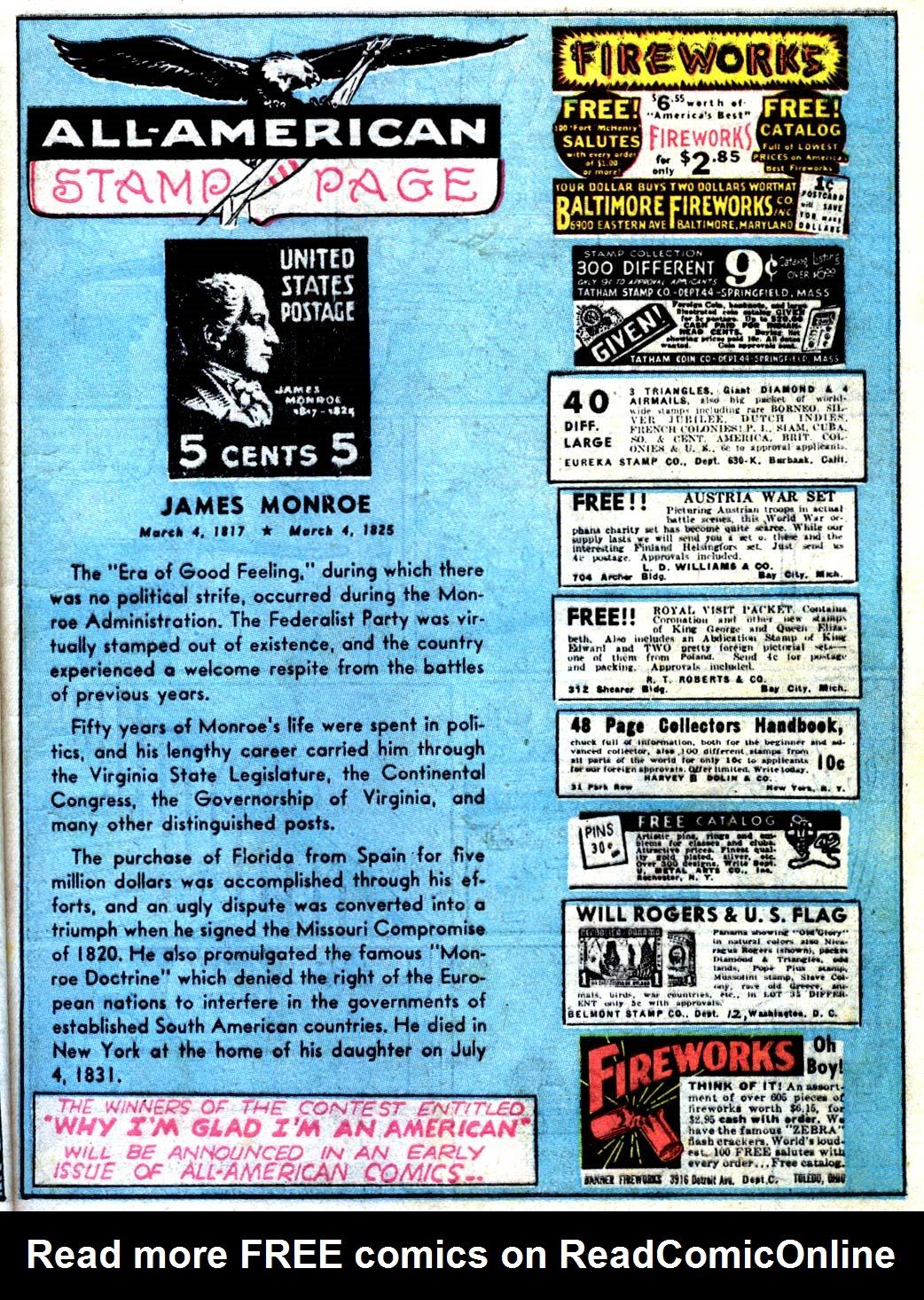 Read online All-American Comics (1939) comic -  Issue #15 - 21