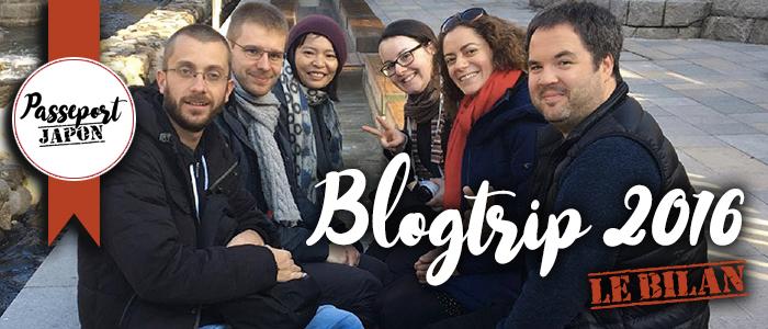 Blogtrip 2016 : le bilan