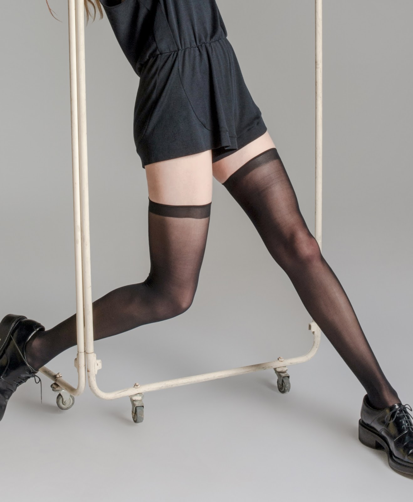 2 Foolproof Ways to Keep Your Thigh-High Stockings From Slipping
