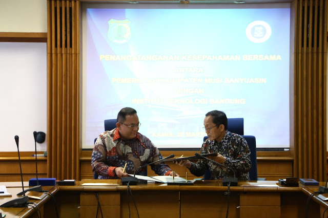 Pemkab Muba dan ITB MoU Terapkan Biohidrocarbon Berbasis Kelapa Sawit