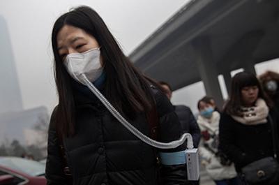El 92 % de las personas en el mundo respiran aire contaminado